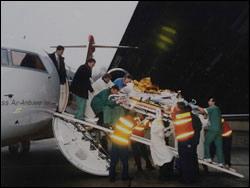 Немецкий Кардиологический Центр - авиационная доставка кардиологических пациентов